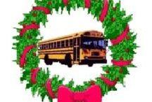 School Bus & Bus Christmas / It's a School Bus Christmas