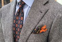 Classic Clothing / Dapper suit ensembles, pattern and colour matching, elegant casual outfits, bespoke tailoring and much more ;)