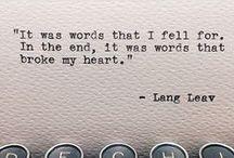 ~Endings & Beginnings~