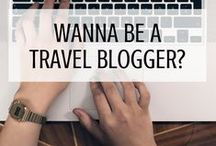 Want to Start a Travel Blog? Read These First! / Are you dreaming of becoming a travel blogger? You might want to read this stuff first! But don't get too scared... Travel blogging is a lot of fun!