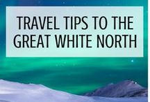 Ultimate Travel Tips for Northern Countries / Oh mighty North. So white in winter, so bright in summer. Find the ultimate travel tips for Northern countries here!