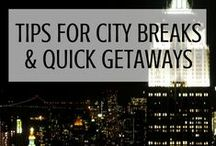 Tips for city breaks all over the world! / A quick weekend getaway or a long holiday, doesn't matter! This board is for the best tips and itineraries for city breaks in Europe and beyond!