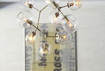 Suspension élégante/Elegant ceiling light / Lampe