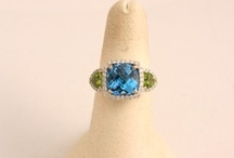 Colored Stones / #jewelry
