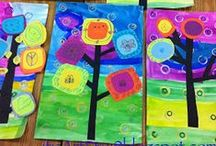 Art Lessons and Ideas for the Primary Classroom / A collection of art ideas for the primary classroom. Lots of fabulous examples, lesson plans, tips, artist studies, painting examples, drawing ideas and much much more!