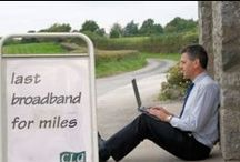 Rural Broadband around the world / Reliable and fast broadband Internet access is crucial to businesses, householders and communities in rural areas, just at it is in our towns and cities