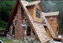Arquitetura Residencial - Rústico / estilo colonial rústico / tijolos / pedras.. Imoveis Rurais