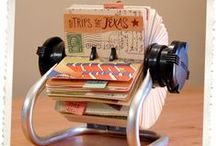 Rolodex / Inspiration for my own Rolodex project / by Maud Mulder