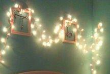 Lights in the bedroom / Light, bedroom, cozy