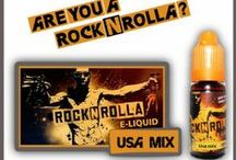 ROCK N ROLLA e liquids / Rock your vaping flavor with ROCK n ROLLa e liquids by www.nexxton-ecig.com