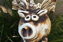 Pottery/Ceramics / Original pieces available at The Little Gallery of Fine Arts.