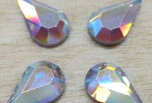 Swarovski Flat Back Hotfix Crystals / We supply all sorts of Swarovski crystals at quiltersexpress.com.  We currently have many flat back hotfix crystals for quilts but we can special order anything as we are currently expanding our inventory.