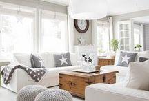 White and Grey, ...haaveita:) / Kaikkea kaunista kotiin...