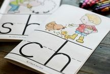 Phonics ♥ In The Classroom / Phonics activities, ideas, lessons and resources collected by Chrystine @ Tweet Resources.