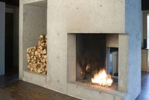 Au coin du feu / By the fireside / Cheminées