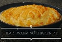 {Pies for Cold Days} / Recipes to Pies   Heartwarming Pies