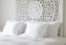 Home in WHITE / White, nordic white. Home decor in the pure colour