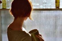 Rainy Days / Rain, rainy days, stay at home, home, warm, winter, autumn