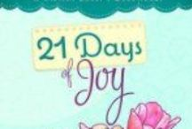 The Fiction Lover's Devotional Series / 21 Days of Grace, 21 Days of Joy, 21 Days of Love, 21 Days of Christmas