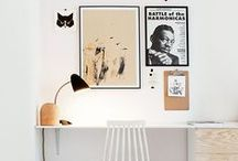 Work Spaces & Other Places / #work #spacious #success #organize #goals #interior
