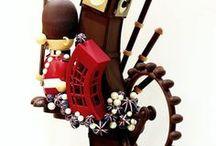 show piece chocolate