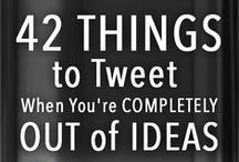 All Things Twitter / Everything you need to know to use Twitter effectively.