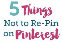 All Things Pinterest / Everything you need to know to use Pinterest effectively.