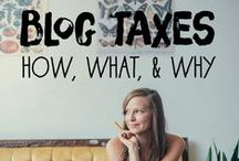 All Things Blogging Taxes / Everything you need to be successful at your taxes when you are a blogger.