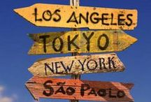 Vacation Bound! Places To Travel To! / Places I dream of traveling to!