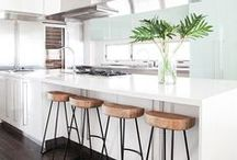 Kitchen ♥ Renovations / My wonderful collection of kitchen ideas and inspirations! Sinks, bench tops, islands, storage and organization and more!
