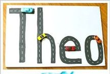 Name Activities, Games & Crafts / Crafts, games, printables and activities to help children learn their names!