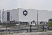 M3storage Aeropuerto / Crecemos. Ahí van las fotos de la construcción de nuestro nuevo centro de minibodegas en Santiago de Chile. Pueden seguir los avances de la obra paso a paso.