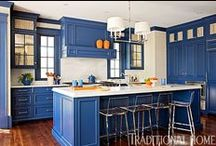 Kitchens in color