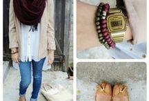 Hijab style inspirations / for hijabi