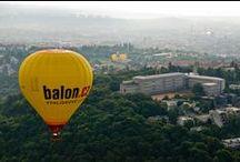Klasický let balónem / Vyhlídkový let ve velkém pasažérském balónu v lokalitách Brno a okolí, Olomouc, Bouzov, Jihlava, Telč, Pálava, okolí Prahy - Konopiště, Slapy, ...