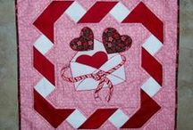 LOVING QUILTS / Heart Themed Quilts / by Deborah Thomas