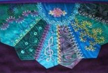CRAZY QUILT MASTERPIECE / Organized Crazy Quilts  / by Deborah Thomas