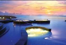 Collection of Royal Cliff's Stunning Pools / Photos of Royal Cliff's beautiful swimming pools. Royal Cliff Hotels Group is situated in Pattaya, Thailand.  / by Royal Cliff Group