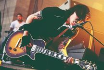 Frank Iero / He's the most energetic guitar player i've ever seen, you most love him for that; I DO