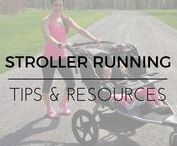 Stroller Running Tips / Tips and advice about stroller running and stroller races.