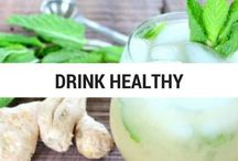 Drink Healthy / Healthy Drinks, Healthy Coffee, Smoothies, Cleansing Drinks, Natual Flavored Drinks.