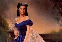 """Gone With The Wind / My very first """"date"""" with my Dad was when he took me to see """"Gone With The Wind"""" in the theater.  I was so impressed with the elegance of the intermission and I've been obsessed with the Civil War ever since. / by Colette Clarke"""