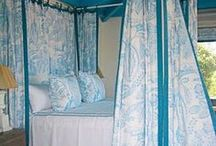 Canopy beds in color