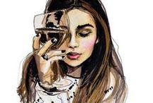 < Drawings >