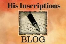 BLOG ~ His Inscriptions / Deborah Perkins / Articles/ Blog by Deborah Perkins, devoted to improving your communication with God. Follow this board for weekly inspiration in short, easy-to-digest articles on faith.
