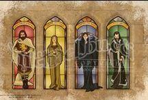 HOGWARTS FOUNDERS / Harry Potter / by Deborah Thomas
