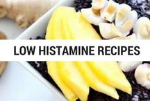 Low Histamine Recipes / Low Histamine Diet Recipes