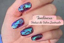 Unhas de Vidro Quebrado | Shattered Nails / http://caroldoria.com/2015/11/tendencia-unhas-de-vidro-quebrado/