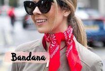 Bandana / http://caroldoria.com/2016/05/tendencia-bandana/