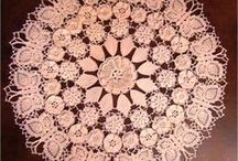 Crochet / Assorted Crochet Doilies and Tableclothes / by Terri Egleberry
